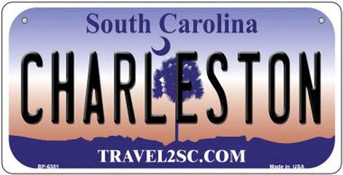 Charleston South Carolina Novelty Metal Bicycle Plate BP-6301