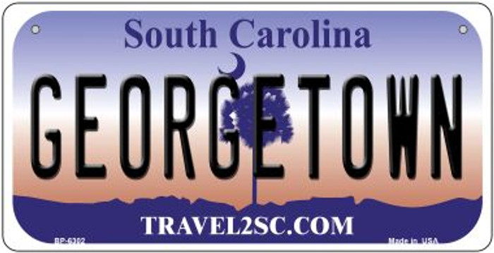 Georgetown South Carolina Novelty Metal Bicycle Plate BP-6302