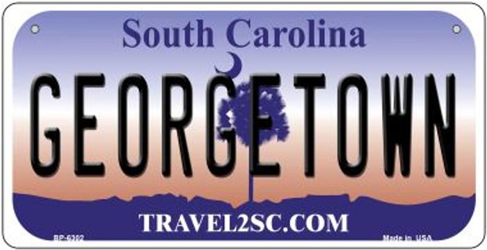 Georgetown South Carolina Novelty Metal Bicycle Plate BP-6302