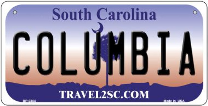 Columbia South Carolina Novelty Metal Bicycle Plate BP-6304