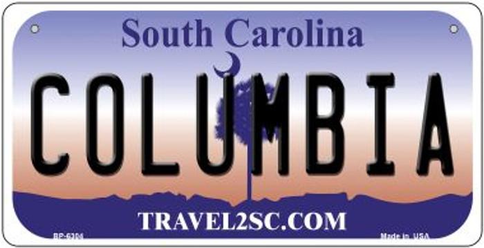 Columbia South Carolina Novelty Metal Bicycle Plate BP-6304