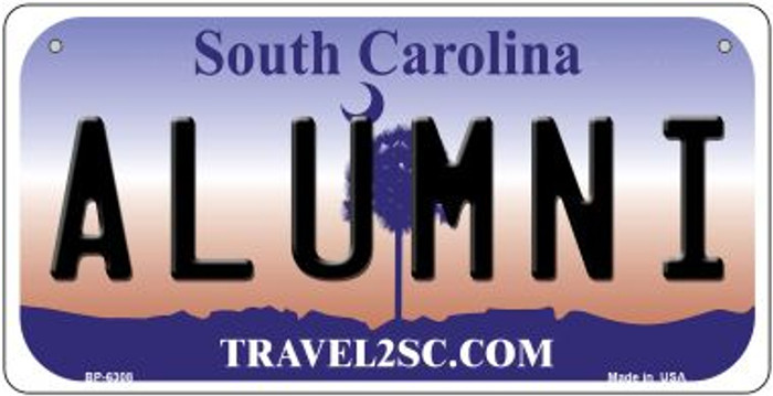 Alumni South Carolina Novelty Metal Bicycle Plate BP-6308