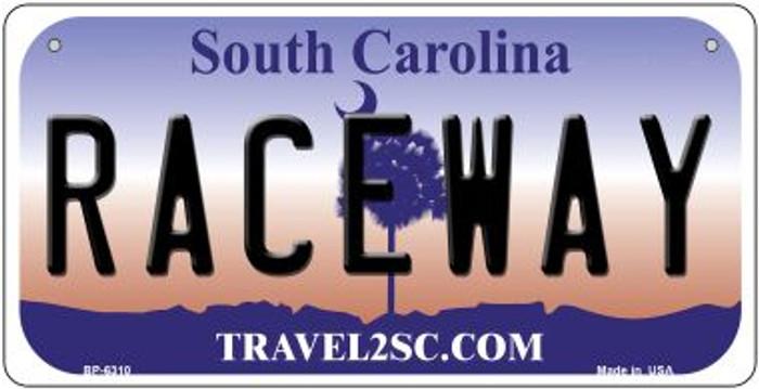 Raceway South Carolina Novelty Metal Bicycle Plate BP-6310