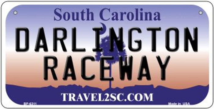 Darlington Raceway South Carolina Novelty Metal Bicycle Plate BP-6311