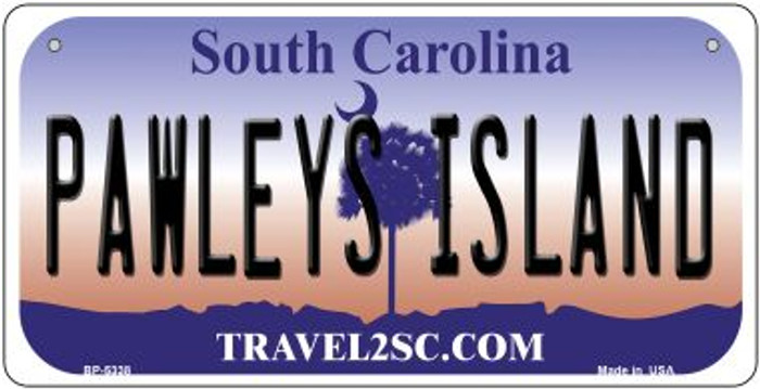 Pawleys Island South Carolina Novelty Metal Bicycle Plate BP-5338