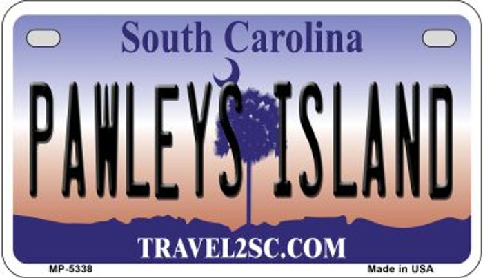 Pawleys Island South Carolina Novelty Metal Motorcycle Plate MP-5338