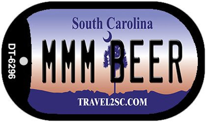 MMM Beer South Carolina Novelty Metal Dog Tag Necklace DT-6296