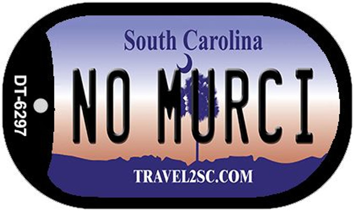 No Murci South Carolina Novelty Metal Dog Tag Necklace DT-6297