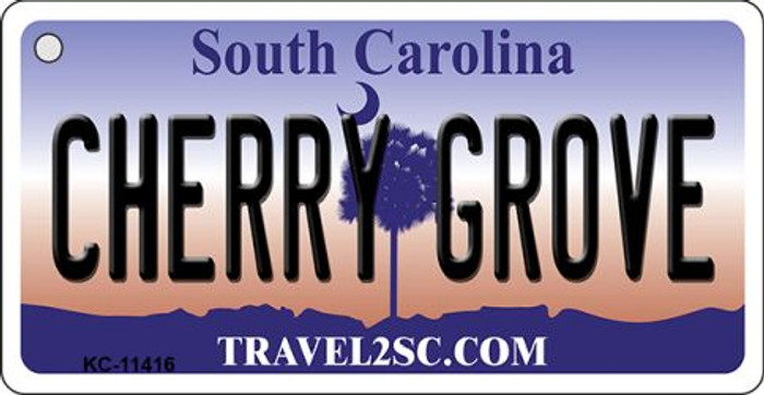 Cherry Grove South Carolina Novelty Metal Key Chain KC-11416