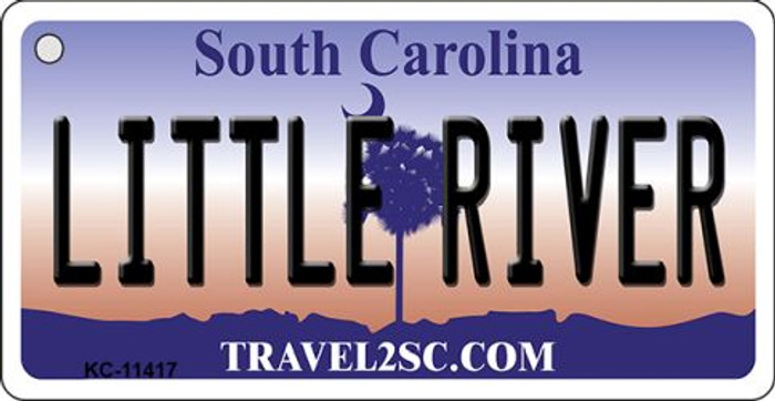 Little River South Carolina Novelty Metal Key Chain KC-11417