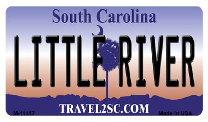 Little River South Carolina Novelty Metal Magnet M-11417