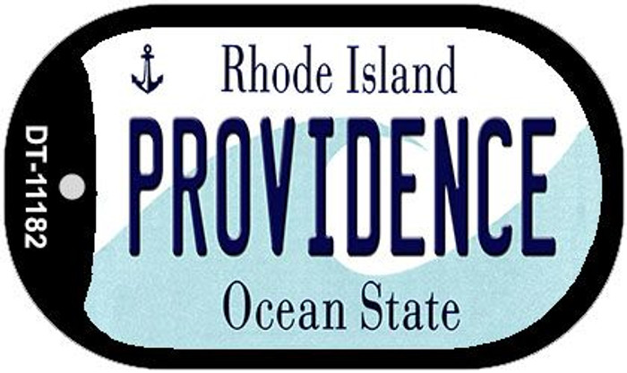 Providence Rhode Island Novelty Metal Dog Tag Necklace DT-11182