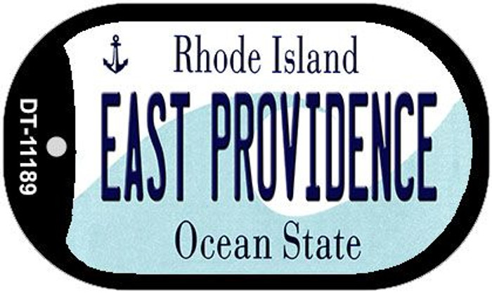East Providence Rhode Island Novelty Metal Dog Tag Necklace DT-11189