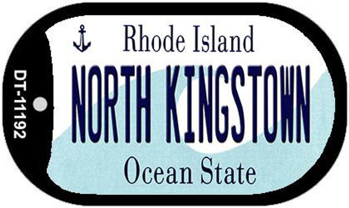 North Kingstown Rhode Island Novelty Metal Dog Tag Necklace DT-11192