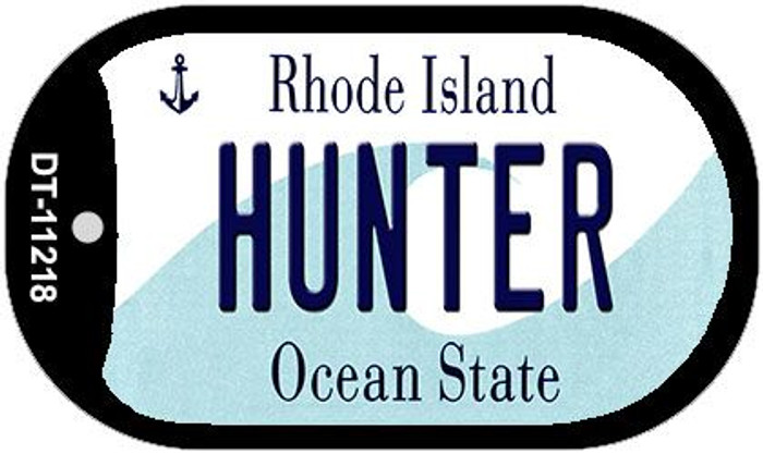 Hunter Rhode Island Novelty Metal Dog Tag Necklace DT-11218