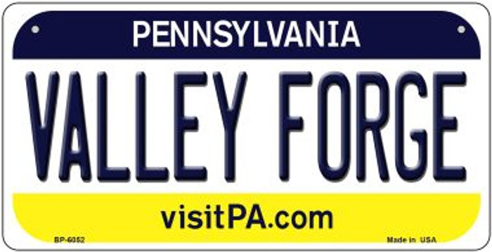 Valley Forge Pennsylvania Novelty Metal Bicycle Plate BP-6052