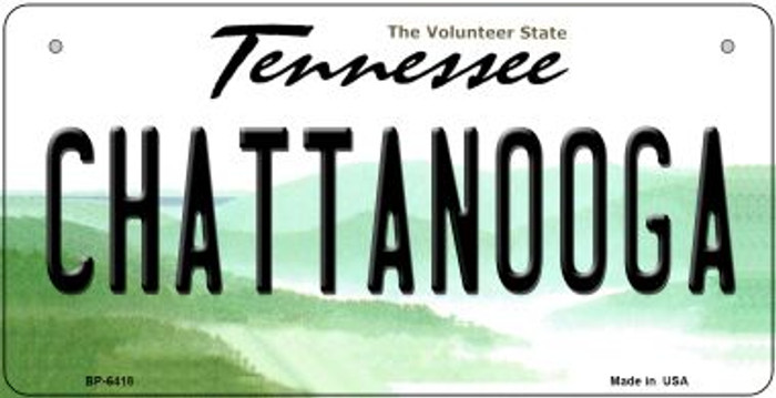 Chattanooga Tennessee Novelty Metal Bicycle Plate BP-6418