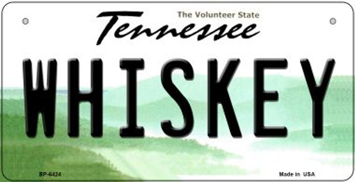 Whiskey Tennessee Novelty Metal Bicycle Plate BP-6424
