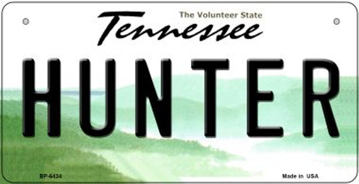 Hunter Tennessee Novelty Metal Bicycle Plate BP-6434