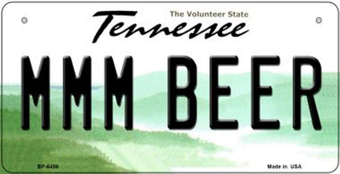 MMM Beer Tennessee Novelty Metal Bicycle Plate BP-6456