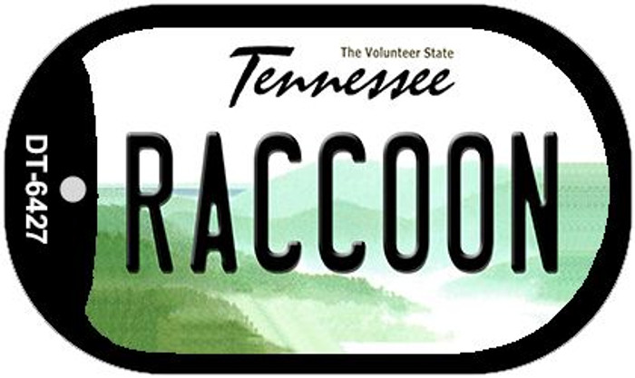 Raccoon Tennessee Novelty Metal Dog Tag Necklace DT-6427