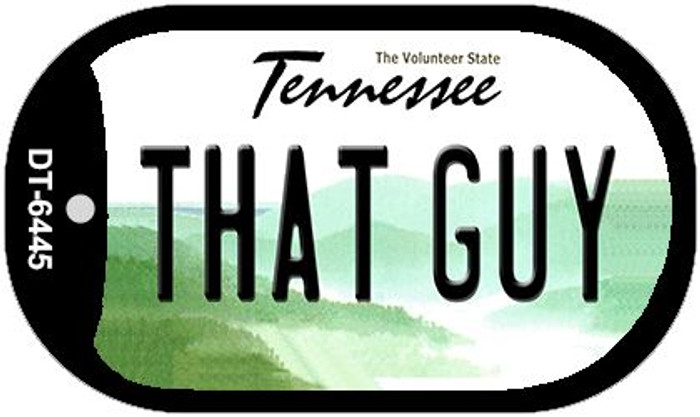 That Guy Tennessee Novelty Metal Dog Tag Necklace DT-6445