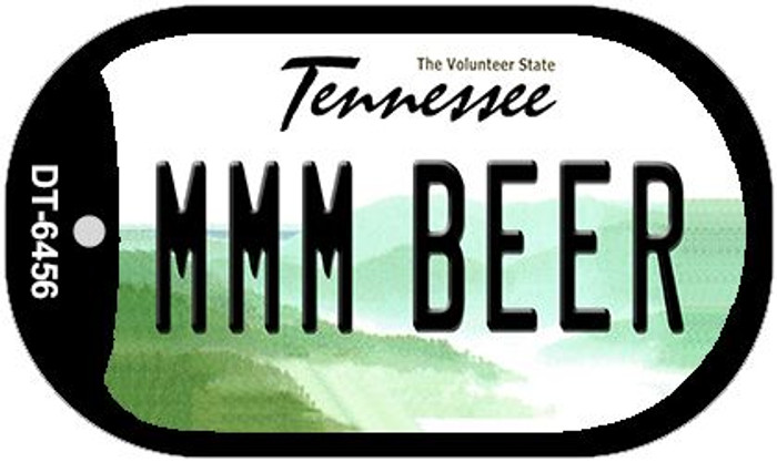 MMM Beer Tennessee Novelty Metal Dog Tag Necklace DT-6456