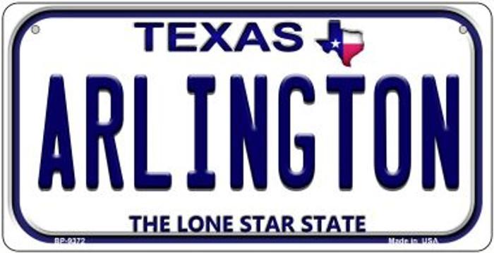 Arlington Texas Novelty Metal Bicycle Plate BP-9372