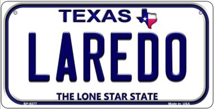 Laredo Texas Novelty Metal Bicycle Plate BP-9377
