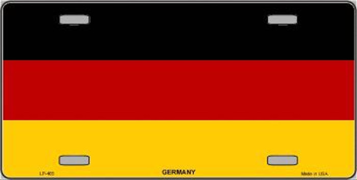 Germany Flag Metal Novelty License Plate LP-465