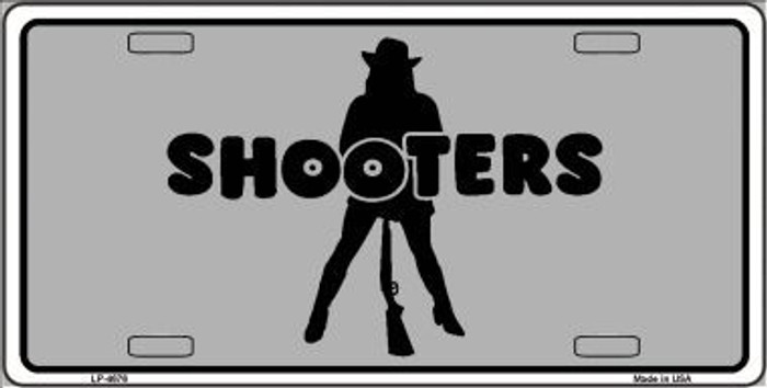 Shooters Metal Novelty License Plate LP-4676