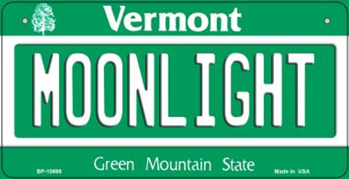 Moonlight Vermont Novelty Metal Bicycle Plate BP-10695