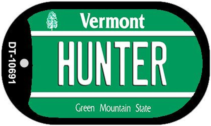 Hunter Vermont Novelty Metal Dog Tag Necklace DT-10691