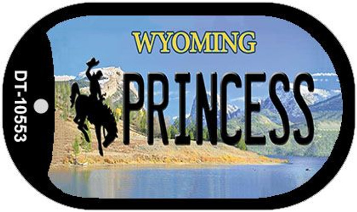 Princess Wyoming Novelty Metal Dog Tag Necklace DT-10553