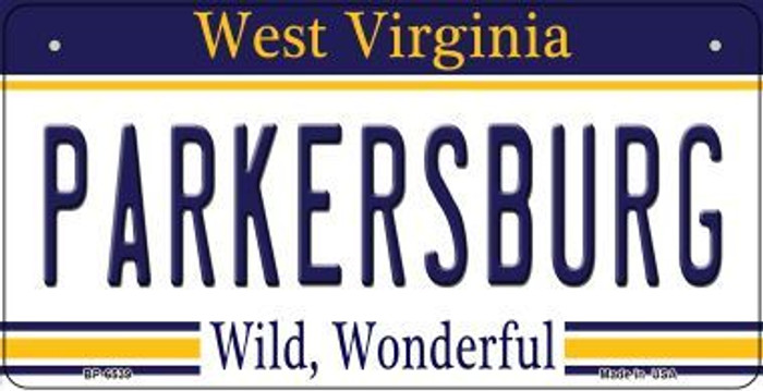 Parkersburg West Virginia Novelty Metal Bicycle Plate BP-6539