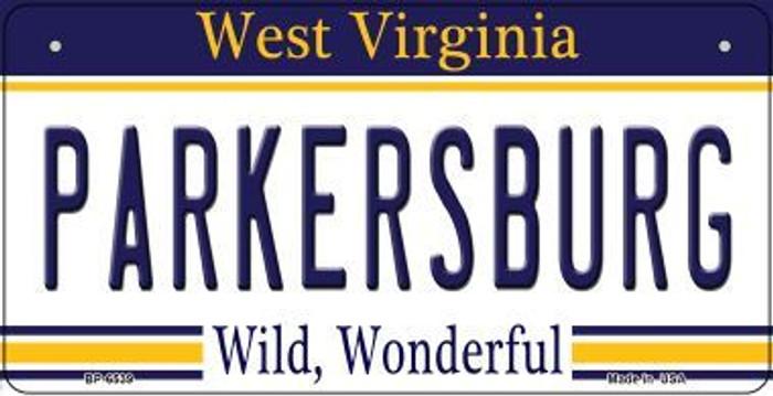 Parkersburg West Virginia Novelty Metal Bicycle Plate BP-6539