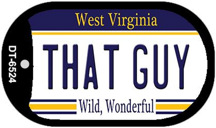 That Guy West Virginia Novelty Metal Dog Tag Necklace DT-6524