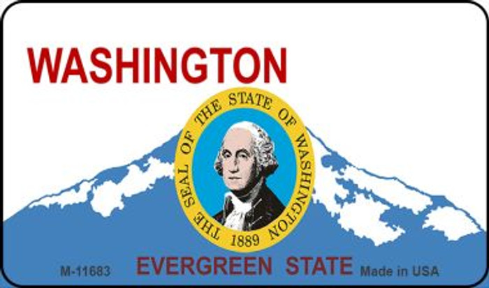 Washington State Seal Novelty Metal Magnet M-11683