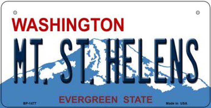 Mt St Helens Washington Novelty Metal Bicycle Plate BP-1477