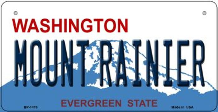 Mount Rainier Washington Novelty Metal Bicycle Plate BP-1478