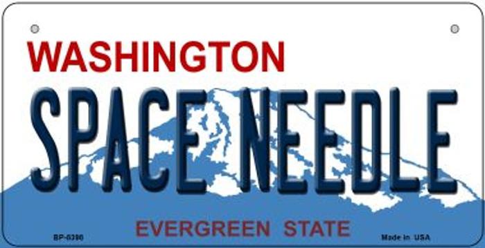 Space Needle Washington Novelty Metal Bicycle Plate BP-8398