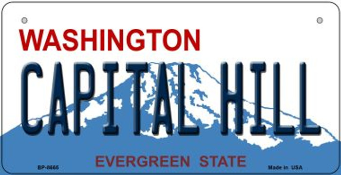 Capital Hill Washington Novelty Metal Bicycle Plate BP-8665