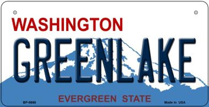 Greenlake Washington Novelty Metal Bicycle Plate BP-8668