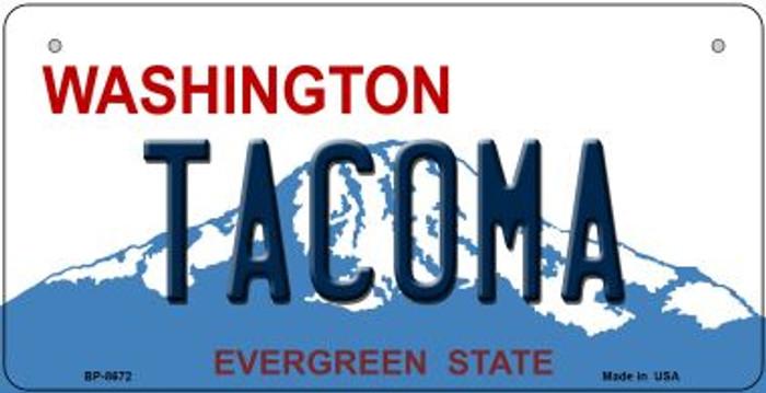 Tacoma Washington Novelty Metal Bicycle Plate BP-8672