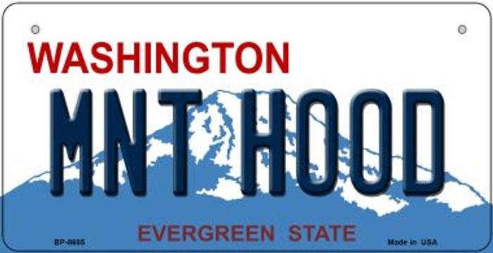 Mnt Hood Washington Novelty Metal Bicycle Plate BP-8685