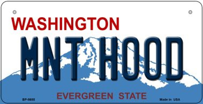 Mnt Hood Washington Novelty Metal Bicycle Plate BP-8685