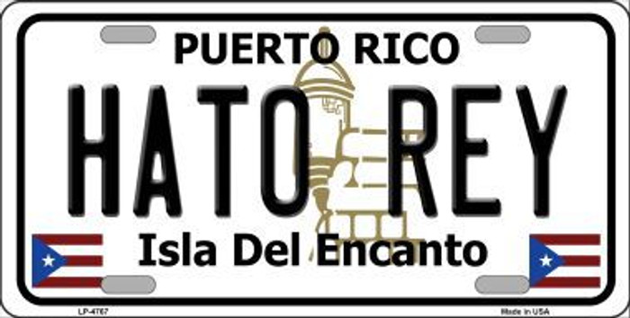 Hato Rey Puerto Rico Novelty Metal Novelty License Plate LP-4767