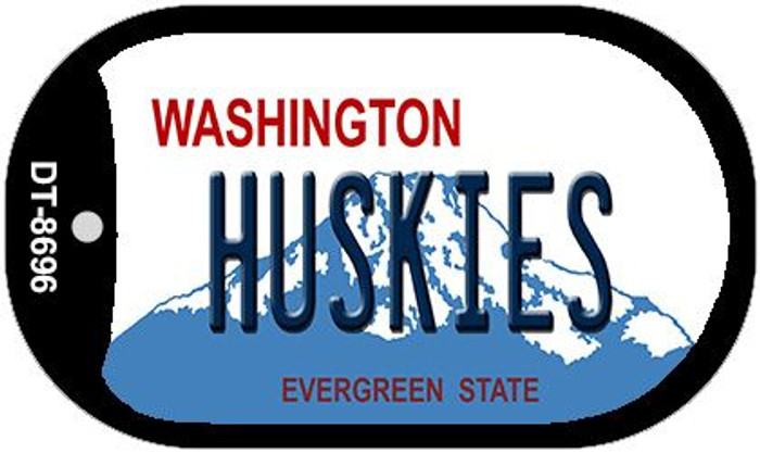 Huskies Washington Novelty Metal Dog Tag Necklace DT-8696