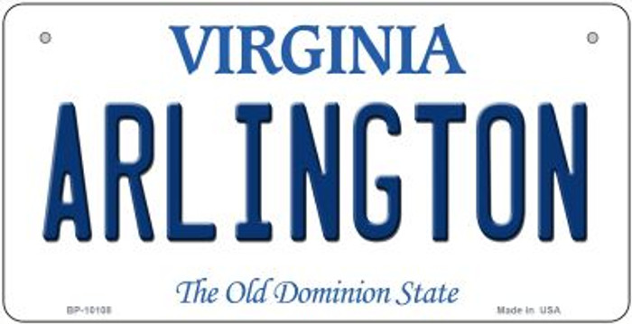 Arlington Virginia Novelty Metal Bicycle Plate BP-10108