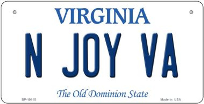 N Joy VA Virginia Novelty Metal Bicycle Plate BP-10115